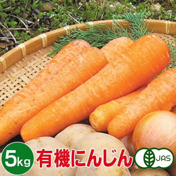 全国の仲間の有機JAS認定を受けた生産者の根菜をお届けします 有機にんじん 5kg アイテム勢ぞろい 有機人参 有機ニンジン 定番キャンバス 野菜 オーガニック 送料無料 有機野菜 有機栽培