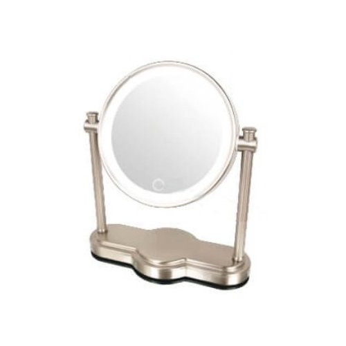 アイキャッチ 真実の鏡Luxe-クラシック型 LED照明付き5倍鏡 EC014LXAC-5X 送料無料