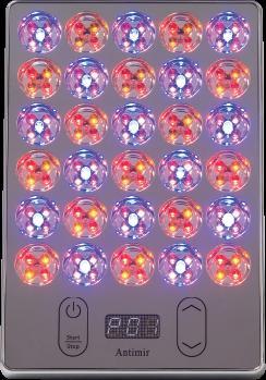 ホームエステ 光エステ アイキャッチ 美顔器 真実の鏡Beauty-Antimir LED pad EC016BTAC-1X 送料無料 プレゼント 母の日