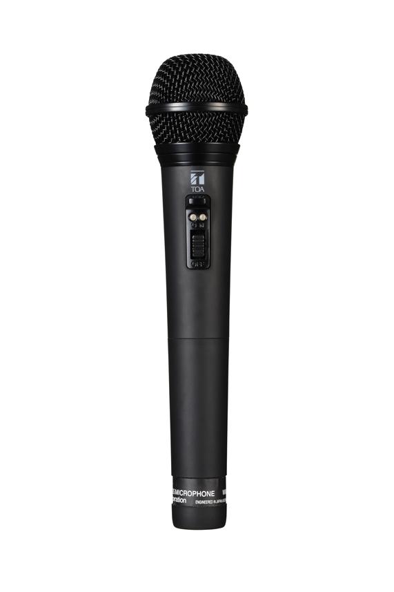TOA ワイヤレスマイク ハンド型 スピーチ・ボーカル用 WM-1265B【メーカー直送・代引き不可】