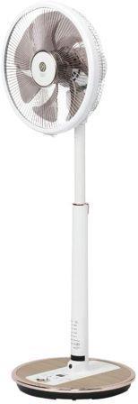 トヨトミ 人感センサー 温度センサー タッチストップセンサー付の最上位機種のDCモーター フルリモコンハイポジション扇風機 FS-DST30JHR-WM