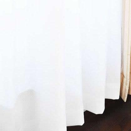 サラクール防炎ミラーレースカーテン 幅100cm×丈198cm