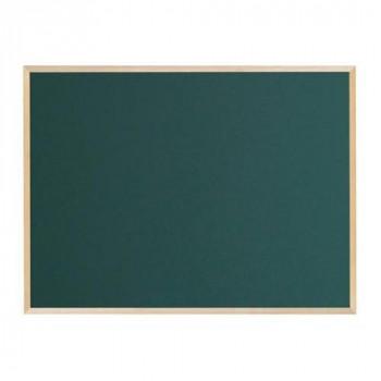 クリア塗装(ツヤ消し)の木枠ボード! 馬印 木枠ボード スチールグリーン黒板 1200×900mm WOS34 代引き不可