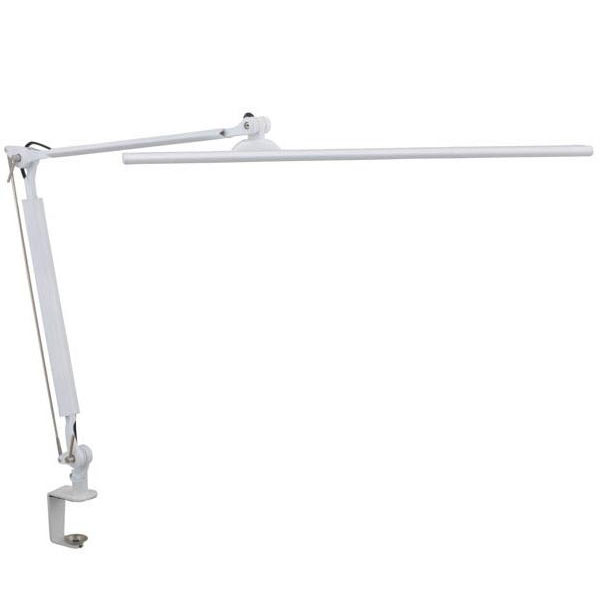 OHM LEDタッチ式調光アームライト ホワイト OAL-LK55-W