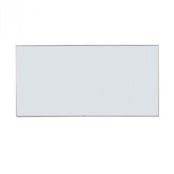 【送料無料】馬印 Nシリーズ(エコノミータイプ)壁掛 無地ホワイトボード W1800×H900 NV36