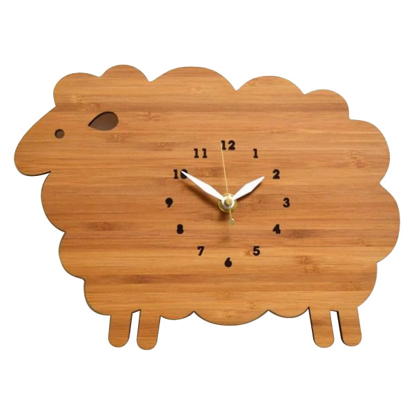 Made in America DECOYLAB(デコイラボ) 掛け時計 SHEEP ひつじ 代引き不可
