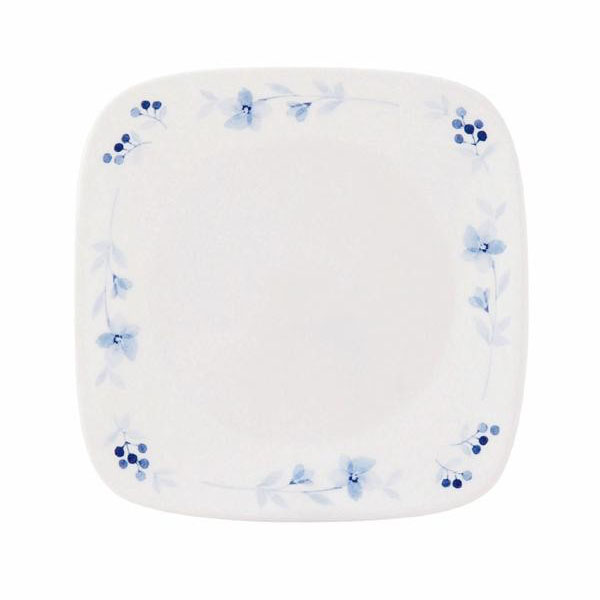 【】CP-9323 コレール ブルーグレイス スクエア小皿 J2206-BK 5枚セット