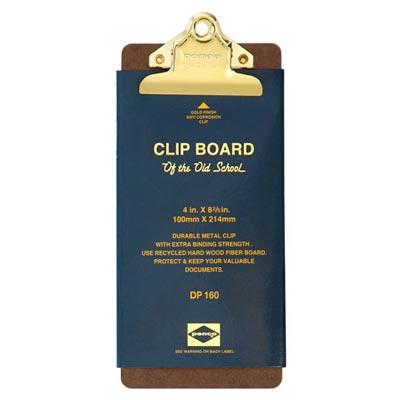 アメリカ映画にそのまま出てきそうな昔ながらのスタンダードな形。 ペンコ クリップボード オールドスクール ゴールド チェック DP160 クリップホルダー クリップ バインダー おしゃれ かっこいい 文具 タテ 縦 ファイル アメリカ HIGHTIDE ハイタイド 会計 お会計 飲食店