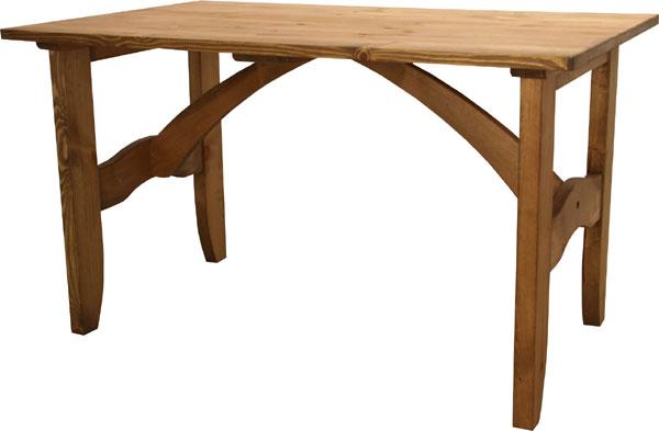 【送料無料】パイン無垢 ナチュラルカントリー ダイニングテーブルB