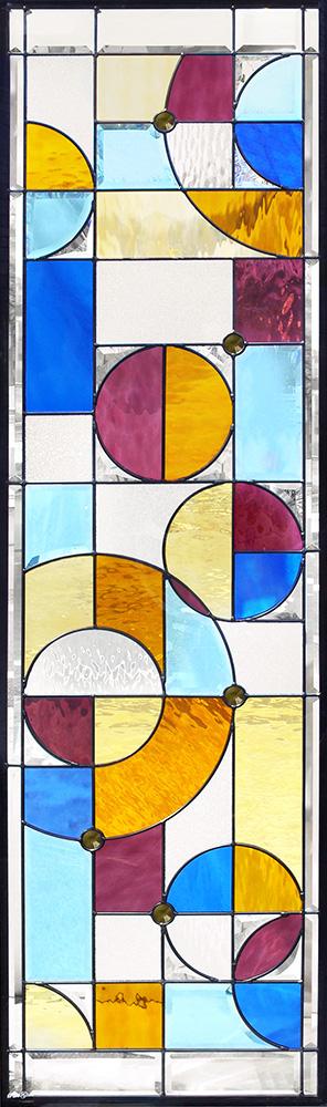 ステンドグラス ピュアグラス SH-B24 パネル 窓枠 おしゃれ アンティーク ガラス ランプ シート 照明 北欧 取り付け DIY ドア 窓 リビング 浴室 玄関 日除け 目隠し 室内 屋内 ステンドガラス 送料無料