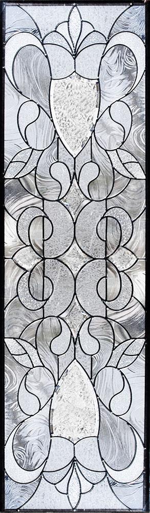 ステンドグラス ピュアグラス SH-B25 パネル 窓枠 おしゃれ アンティーク ガラス ランプ シート 照明 北欧 取り付け DIY ドア 窓 リビング 浴室 玄関 日除け 目隠し 室内 屋内 ステンドガラス 送料無料