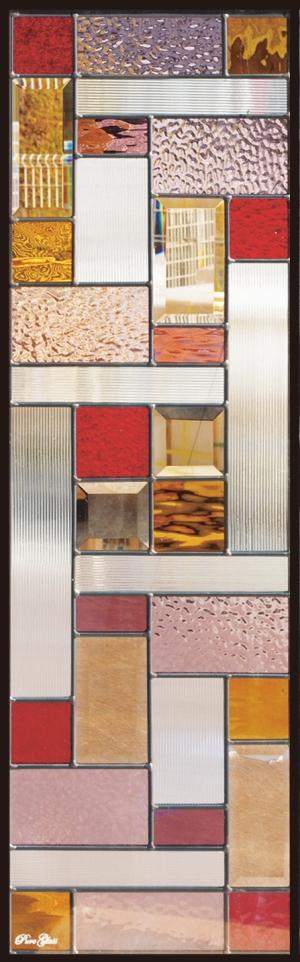 ステンドグラス ピュアグラス SH-C07N パネル 窓枠 おしゃれ アンティーク ガラス ランプ シート 照明 北欧 取り付け DIY ドア 窓 リビング 浴室 玄関 日除け 目隠し 室内 屋内 ステンドガラス 送料無料