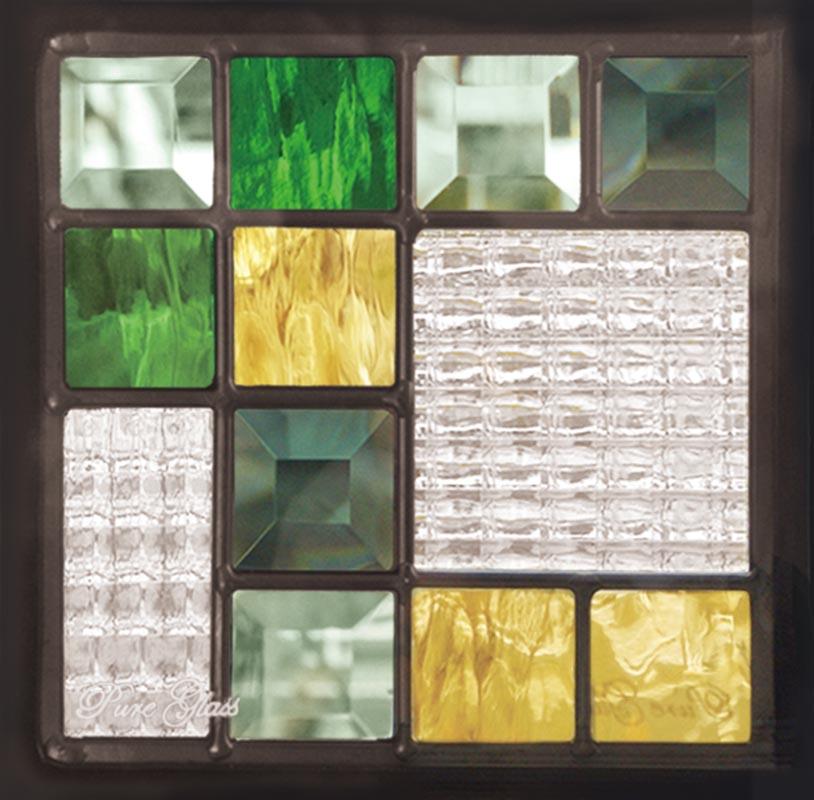 ステンドグラス ピュアグラス SH-D08 パネル 窓枠 おしゃれ アンティーク ガラス ランプ シート 照明 北欧 取り付け DIY ドア 窓 リビング 浴室 玄関 日除け 目隠し 室内 屋内 ステンドガラス 送料無料