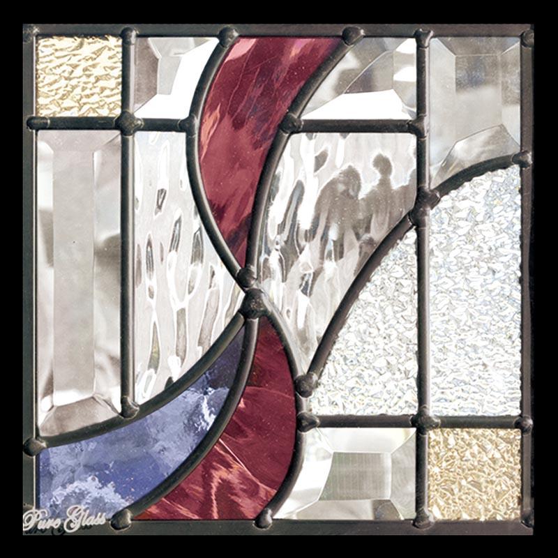ステンドグラス ピュアグラス SH-D36 パネル 窓枠 おしゃれ アンティーク ガラス ランプ シート 照明 北欧 取り付け DIY ドア 窓 リビング 浴室 玄関 日除け 目隠し 室内 屋内 ステンドガラス 送料無料