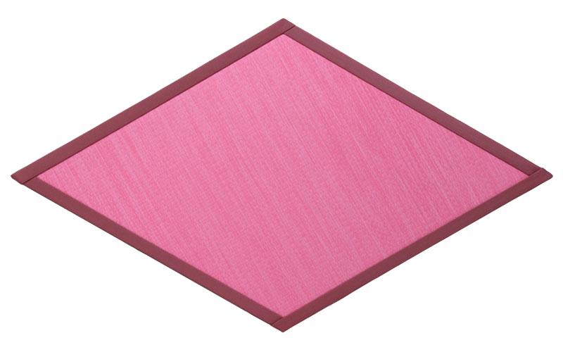 たたみっふる ひし ピンク 1枚 【置き畳】【畳 マット】【畳 フローリング】