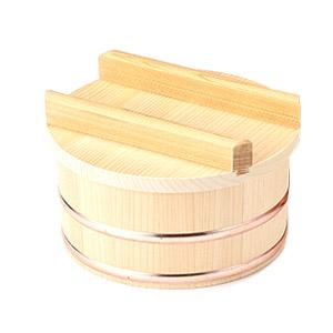 【山一】木曽さわら ちらし桶 一人びつ 05-07 木製 木 さわら 1合 1合用 ごはん 桶 飯台 おひつ