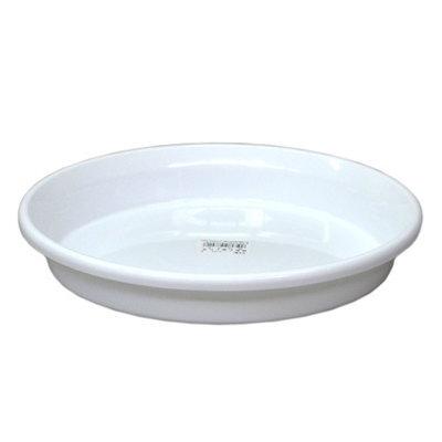 輪鉢F型 長鉢F型などの受皿として 鉢皿F型 10号 ホワイト 供え アップルウェアー 4905980477018 30×4.6cm 上等 鉢受皿