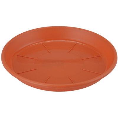 APポットを室内に取り込む鉢受皿に 鉢皿 浅皿AP6号 テラコッタ 4905980487130 アップルウェアー 人気 おすすめ 18×2.4cm 鉢受皿 超特価