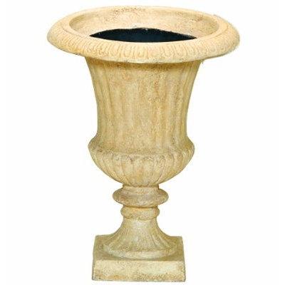 スタンド鉢カバー Aカップ 48型 アイボリー 2個組 46×H61cm【大和プラ販 ヤマトプラスチック グラスファイバー FRP 植木鉢 4903266718145】