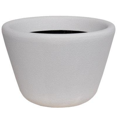 大型鉢カバー ランプ 60型 ホワイト 60×H41.5cm【大和プラ販 ヤマトプラスチック グラスファイバー FRP 植木鉢 4903266725716】