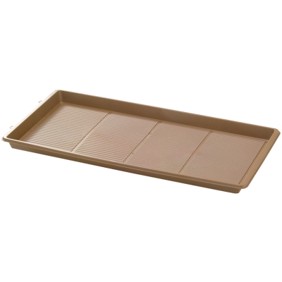 鉢皿 eco&ecoガーデンパレット 600型 エコブラウン 24枚組【大和プラ販 ヤマトプラスチック鉢4903266723071】