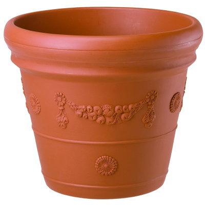 鉢カバー レッドリーフカバー 80型 ブラウン 3個組 80×H70cm【大和プラ販 ヤマトプラスチック鉢 植木鉢 4903266714451】