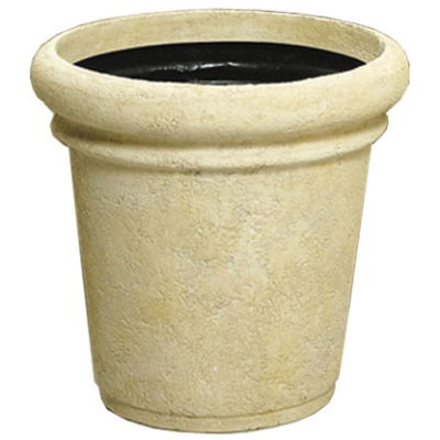 大型鉢カバー セラポット 70型 アイボリー 丸鉢 72×H65cm【大和プラ販 ヤマトプラスチック グラスファイバー FRP 植木鉢 4903266716844】