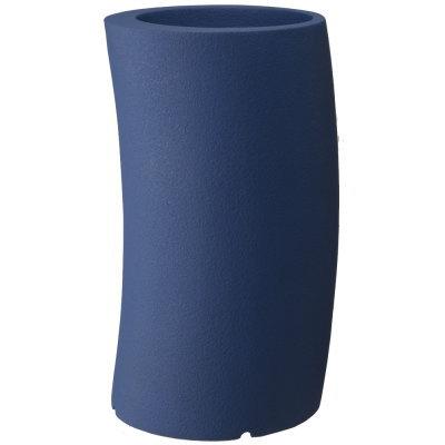 大型鉢カバー カーブ 33H型 ダークブルー 33×H60.5cm【大和プラ販 ヤマトプラスチック グラスファイバー FRP 植木鉢 4903266725587】