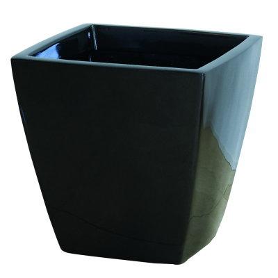 大型鉢カバー アーバンポット AS型 メタリックグレー AS-50 50×50×H47cm【大和プラ販 ヤマトプラスチック グラスファイバー FRP 植木鉢 4903266719067】