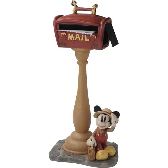 【送料無料】ディズニー 郵便受け メールボックス 郵便ポスト!セトクラフト SD-6131-5500 スタンドポスト(ミッキー)トラベラー
