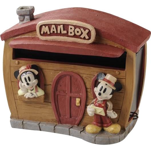 【送料無料】ディズニー 郵便受け メールボックス 郵便ポスト!セトクラフト ポスト(ミッキー&ミニー) トラベラー SD-6132-2300