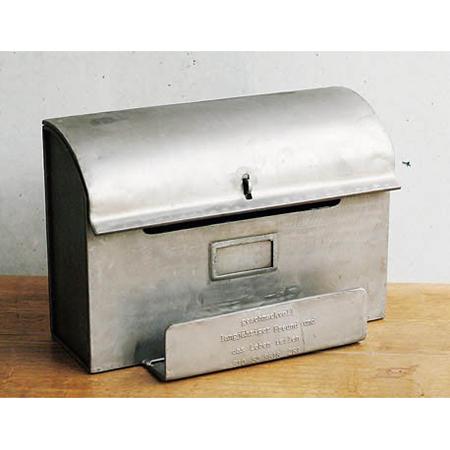 蓋を開けるとA4サイズの書類が入れられるポスト GESHMACK MAIL BOX 郵便受け 送料無料でお届けします 限定モデル メールボックス インテリア ポスト