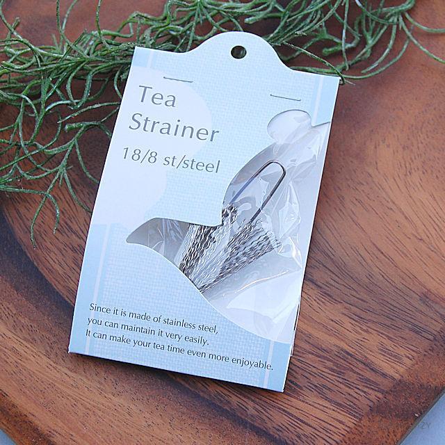 注ぎ口にそのまま取り付けるタイプのティーストレーナーです ティーストレーナー ティー ストレーナー 日本産 銀の羽 ツール SALENEW大人気! 紅茶 茶葉 ネコポス対応 ティーツール