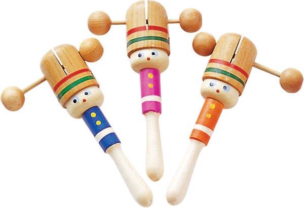 リンリンカチカチ 24個セット ポコポコ 振る 子供 おもちゃ 玩具 懐かしい 民芸 プレゼント お祝い 民芸玩具 おもしろ雑貨 ザッカ ビンゴ景品 バザー
