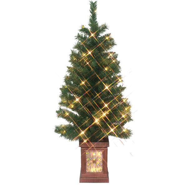120cmLEDクラッシックライトツリー X'mas クリスマス クリスマスツリー 北欧 ツリー ディスプレイ 飾り 装飾 電飾 イベント パーティー 冬 子ども会 子供会 おもしろ雑貨 ザッカ ビンゴ景品 バザー