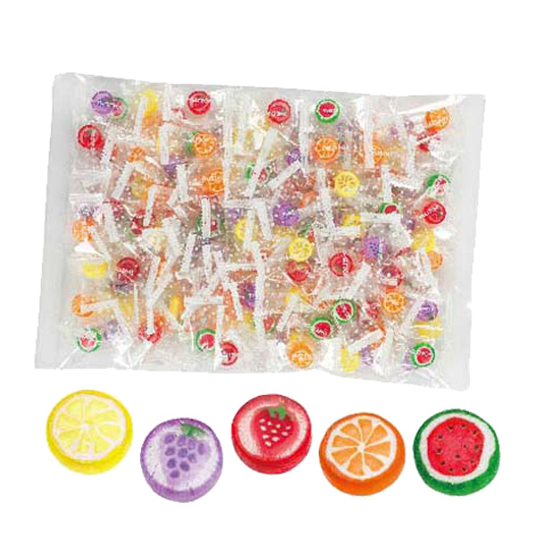 【6個セット】フルーツMIX手づくり飴大袋 キャンディ フルーツ カラフル 粗品 おやつ お菓子 子供会 ビンゴ景品 業務用 バザー