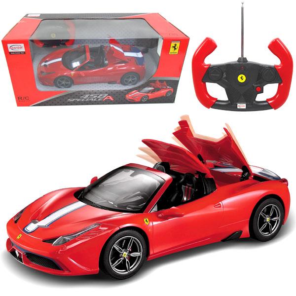 ラジコン フェラーリ 458 スペチアーレ 1:14 ラジコンカー 自動車 くるま スポーツカー クルマ プレゼント ショップ 男の子 おもちゃ 入学祝い 走る 大人 誕生日 走行 クリスマス 世界の人気ブランド
