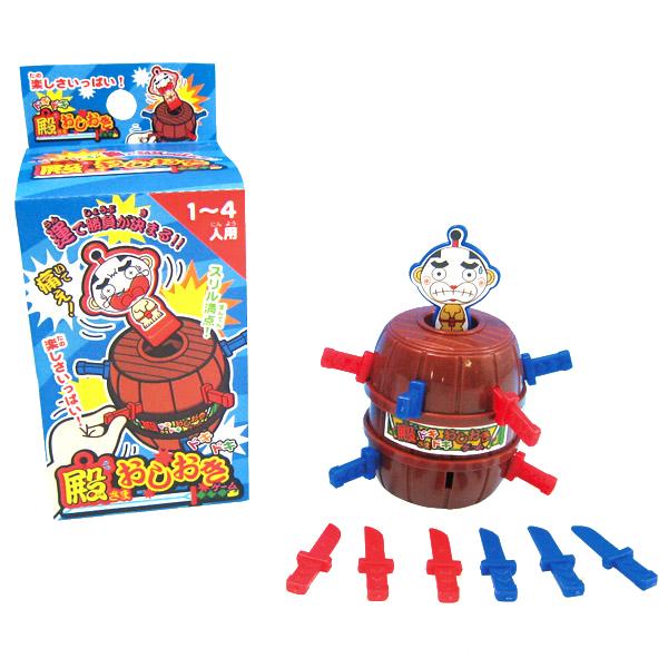 殿さまおしおきゲーム おもちゃ 楽しい 休日 短剣 スリル ドキドキ ハラハラ ゲーム 玩具 12個セット おもしろ雑貨 ビンゴ景品 今だけ限定15%OFFクーポン発行中 イベント パーティー こども ザッカ バザー