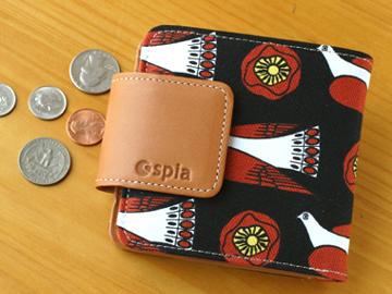 spia スピーア Wallet-No.1 (財布1-二つ折りタイプ) 財布 かわいい おしゃれ 大容量 高校生 女子 プレゼント 雑貨 北欧 スピア 化粧品 コスメ 収納