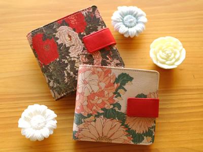☆☆ 有JAPAN ART LEATHER貝羅的對開皮革錢包/書皮革錢包對開錢包皮革/