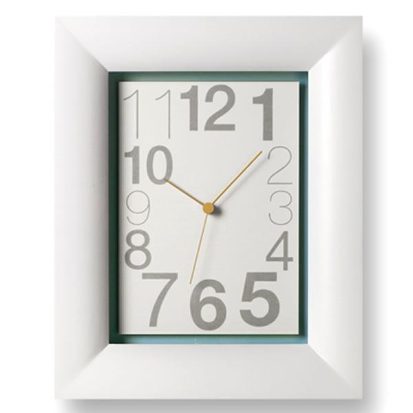 掛け時計 【Lemnos レムノス】type KAKU タイプカク GRL11-03 掛時計 壁掛け 壁掛け時計 時計 おしゃれ 人気 デザイン インテリア 雑貨 北欧 クロック