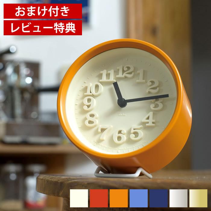 ポコッと数字が浮き出たようなレリーフ文字が目を惹く 分厚くてミニマムな掛け時計 置時計としても使用できます Lemnos レムノス 小さな時計 WR07-15 掛け時計 置き時計 ちいさな時計 渡辺力 復刻 おしゃれ 置時計 保障 テーブルクロック プレゼント 新築祝 かわいい レリーフ文字 掛時計 ギフト タカタレムノス 新作続 レビュー特典付