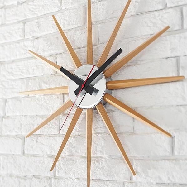 掛け時計アトラス2クロック Atras2-clock 時計 TK-2074 掛時計 おしゃれ シンプル アートワークスタジオ ART WORK STUDIO 雑貨 北欧 デザイナーズ かわいい   引っ越し祝い 新築祝い 贈り物 リビング クロック ウォールクロック かけ時計 インテリア 壁掛け時計