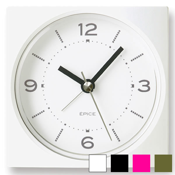 The popular design interior that table clock EPICE エピス PA09-09 table clock alarm alarm clock table clock fashion shows cute during by an order more than 3,240 yen
