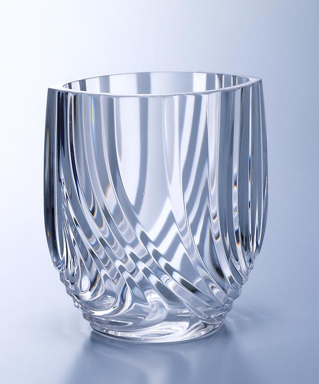 輝き お得セット の美しいフラワーベース 値下げお買得品 1個 ミニフラワーベースフルゴーレ柄 花活け 花器 ガラス 日本製 花瓶 早割クーポン