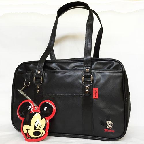 ディズニー 合皮スクールバッグ 販売期間 限定のお得なタイムセール パスケース付き 特別セール品 ミッキー