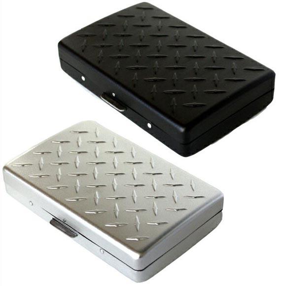 Zakkaya free rakuten global market m flight 1 1 cigarette case m flight 1 1 cigarette case card business card case card case checker plate name card holder matte black colourmoves