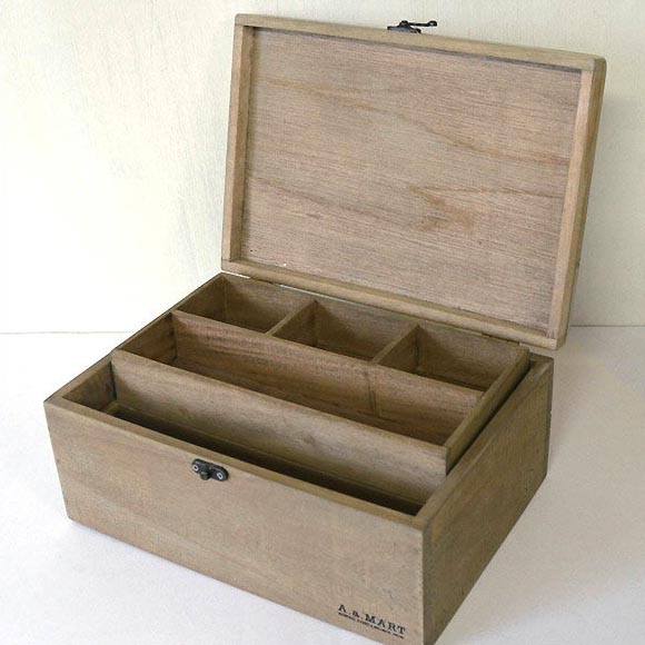 Wooden Boxes Storage Medicine Cabinet Wood Box Anycast Box