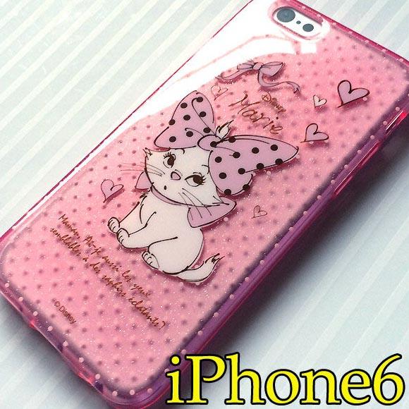 brand new 9b32f d3cfe iPhone cases 6-Disney-Marie: iPhone6 semi hard case (sparkling translucent)  Marie