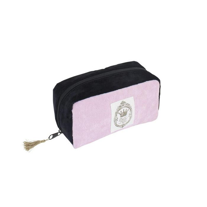Makeup pouch cosmetic box ladies bag NAILIST square pouch PINK